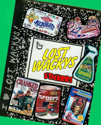 Wacky Packages Lost Wackys