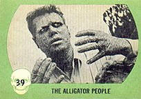 Monster cards. The Alligator People.
