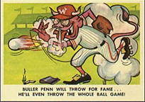 Baseball Weird-Ohs card set.