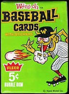 Baseball Weird-Ohs wax pack.