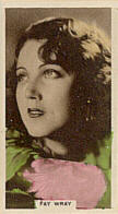Monster cards. Fay Wray.