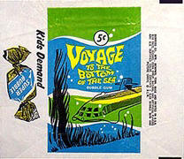 Voyage to the Bottom of the Sea cards wrapper.